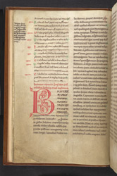 Arabesque Initial, In The Venerable Bede's 'Ecclesiastical History Of The English People' f.4v